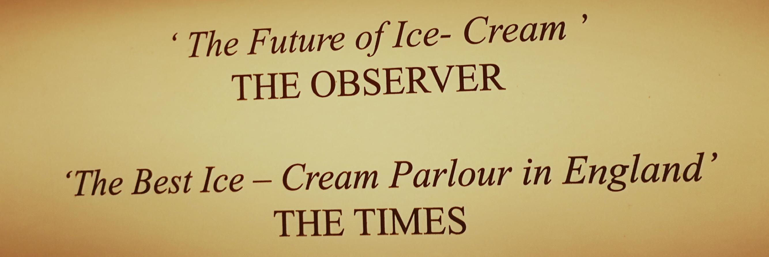 Un gelato all'azoto a Camden Town