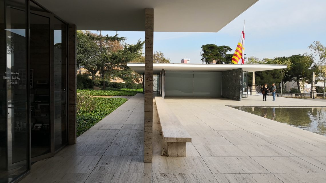 Visita al padiglione espositivo di Barcellona –  Mies Van de Rohe