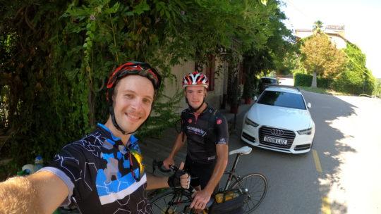 Giro del lago di Como in bici